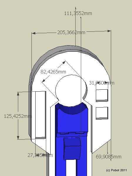 Les Jambes De R2 D2 Pobot