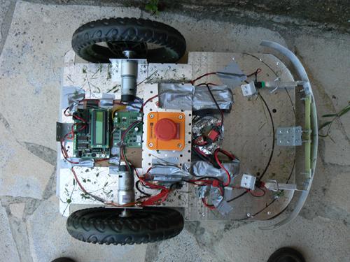 Robot tondeuse pobot